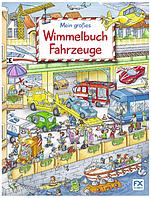 """Книга подарок """"Мой большой виммельбух о Транспорте"""", Mein großes Wimmelbuch Fahrzeuge"""