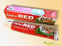 Зубна паста Дабур Ред (червона), 200 г., Dabur Red, Красная Зубная паста  Дабур Рэд, Аюрведа Здесь