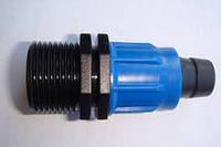 """Муфта зовнішня різьба для стрічки Drip Tape,DN 17*3/4"""" /МРН 17*3/4, фото 1"""