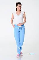 White Rabbit Брюки для беременных White Rabbit Emotions Pants нежно-голубые