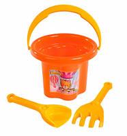 Набор для песка Цветочек (оранжевый), Тигрес (39040-2)