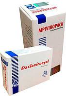 MPIViropack + Daclavirocyrl (Египет) Софосбувир 400 мг. + Даклатасвир 60 мг.