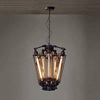 Светильник подвесной Loft Industrial [ Hailstones ]  8-Lamp Edison