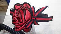 Обручи для волос с красной розой