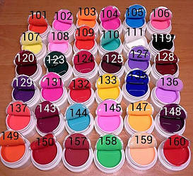 Цветной гель СОСО набором 36 штук