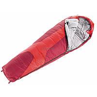 Спальный мешок Deuter Orbit 0 L fire-cranberry правый (37440 5520 0)