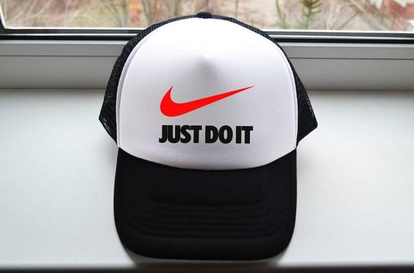 Стильна кепка джаст до іт,бейсболка Just do it