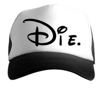 Кепка Die,Бейсболка Die