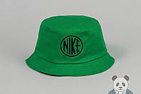Зеленая модная панамка Nike