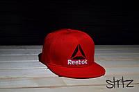 Красная рэперская кепка снепбек рибок,Reebok Crossfit Snapback Cap