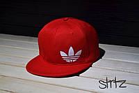 Рэперская красная кепка снепбек адидас,Adidas Originals Snapback Cap