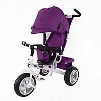 Трехколесный велосипед TILLY Trike T-371 на бескамерных колесах  purple