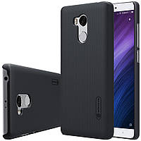 Nillkin Xiaomi Redmi 4 Prime / Pro Super Frosted Shield Black Чехол Накладка Бампер