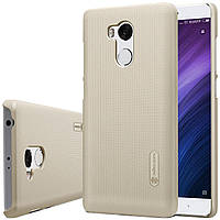 Nillkin Xiaomi Redmi 4 Prime / Pro Super Frosted Shield Gold Чехол Накладка Бампер