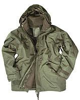 Куртка Mil-Tec непромокаемая с флисовой подстёжкой olive