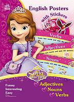 Набор для детей (6+) ПЛАКАТЫ С НАКЛЕЙКАМИ ПРИНЦЕССА СОФИЯ Английский Adjectives