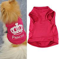 Жилетка для маленькой собаки Принцесса