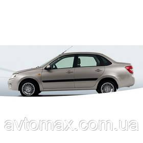 Бампер передний ВАЗ 2190 Лада Гранта крашенный, цвет №610 Рислинг, заводской