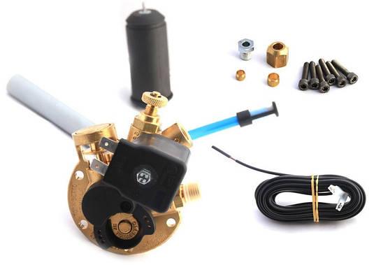Мультиклапан Tomasetto AT02 d.200-30° 1 гом. без ВЗУ