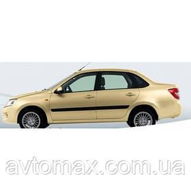 Бампер передний Лада Гранта ВАЗ 2190 крашенный в цвет Желтый такси 200