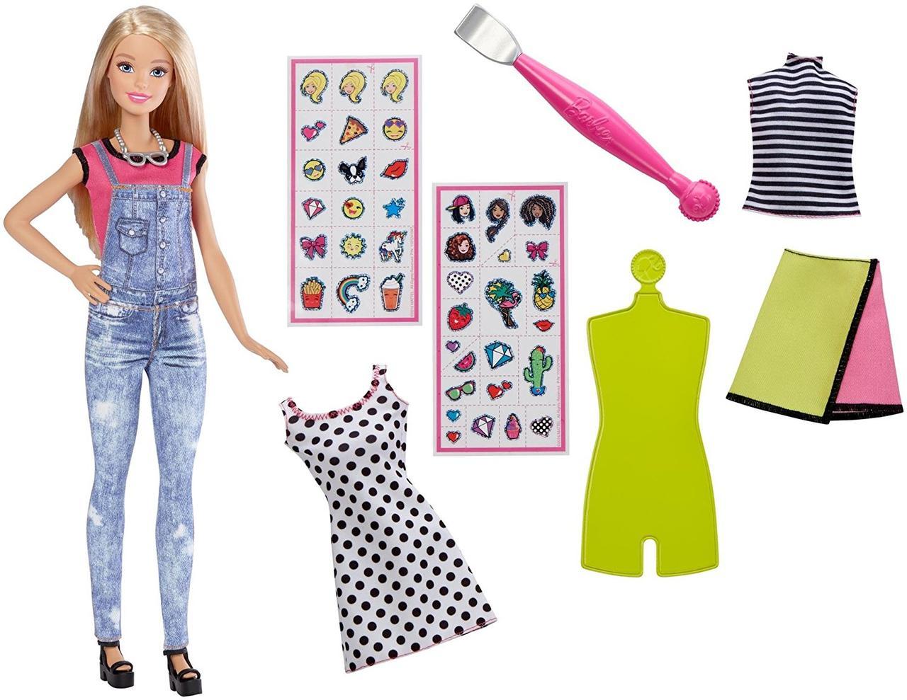 39f466e61 Кукла Барби Дизайнер с одеждой и аксессуарами Эмодзи стайл Barbie D. I. Y.  Emoji Style - Детские игрушки