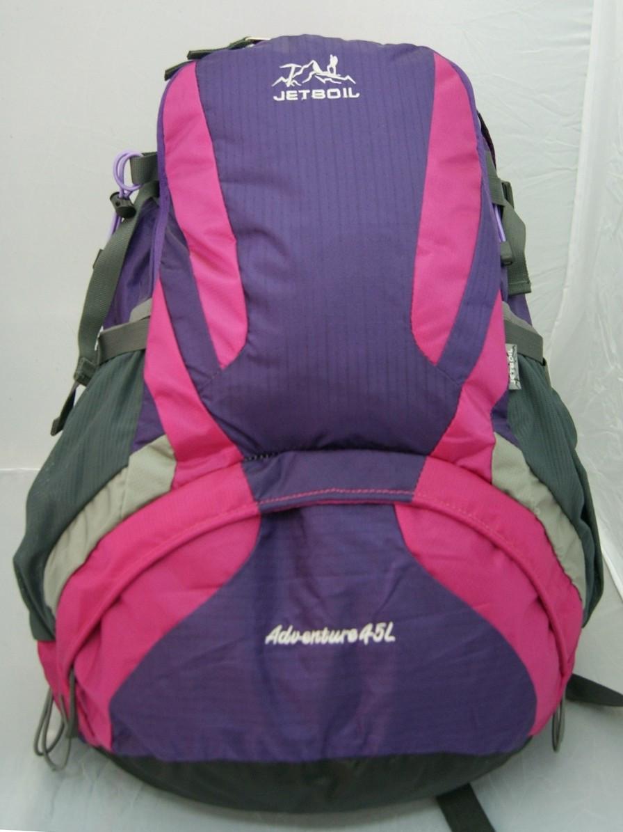 Сиренево-розовый рюкзак для туризма Jetboil Adwenture 45 L, Джетбоил 45 литров ( код: IBR089F )
