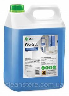 """Средство для чистки сантехники Grass """"WC-gel"""", 5,3 кг."""