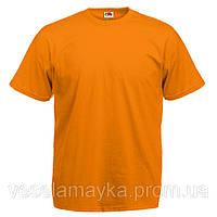 Оранжевая мужская футболка (Комфорт)