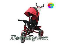 Детский трехколесный велосипед Turbo Trike 3113 Eva - Красный