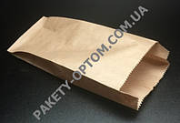 Крафт пакет бумажный для хлеба с V-образным дном
