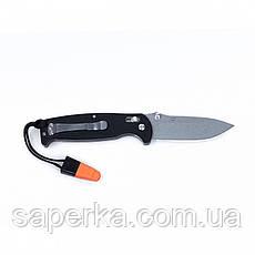 Нож для туризма Ganzo (оранжевый, черный, зеленый) G7412-BK-WS, фото 2