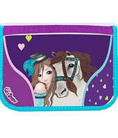 """Пенал Class """"Girl & Horse"""" №97205"""