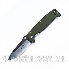 Нож универсальный Ganzo (черный, оранжевый, зеленый) G742-1-BK, фото 3