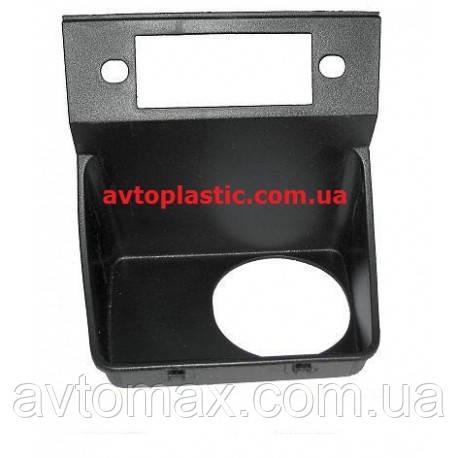Вставка панели крепления радио ваз 2107(колодец)