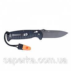 Нож для туризма Ganzo (оранжевый, черный) G7413P-BK-WS, фото 3