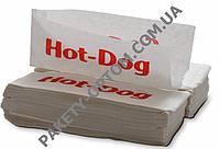 Крафт пакет бумажный для хот-дога с V-образным дном