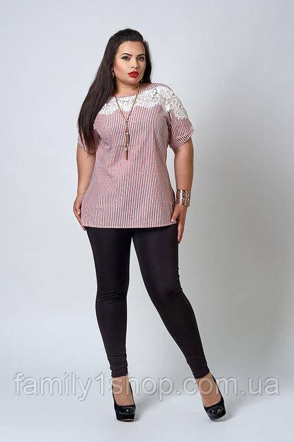 3b911666560 Женская блуза больших размеров