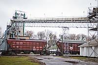 Перевалка,перегрузка сыпучих грузов в железнодорожный транспорт вагоны