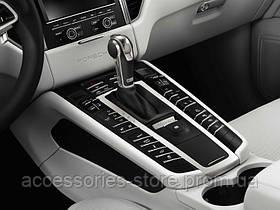 Алюминиевый рычаг переключения передач Porsche Macan, черный