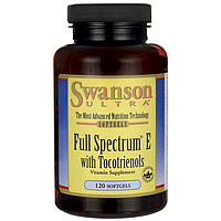 Swanson Ultra Full Spectrum E with Tocotrienols 120 капс