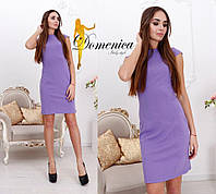 Платье Ткань джерси высокого качества Сзади на потайной молнии Размер единый С-М (21091)