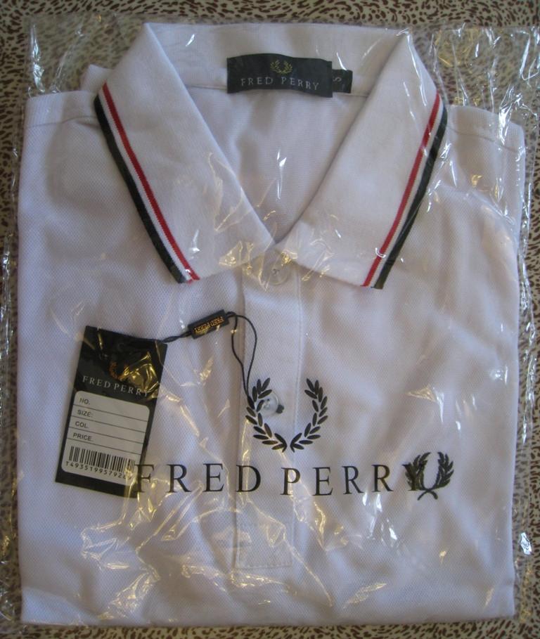 Мужская футболка в стиле Fred Perry фред перри поло