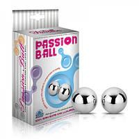 Вагинальные металлические шарики LoveToy Passion Dual Balls