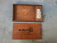 Деревянная, подарочная коробка для флешки и фото.