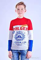 Модный свитер для мальчиков 128-134
