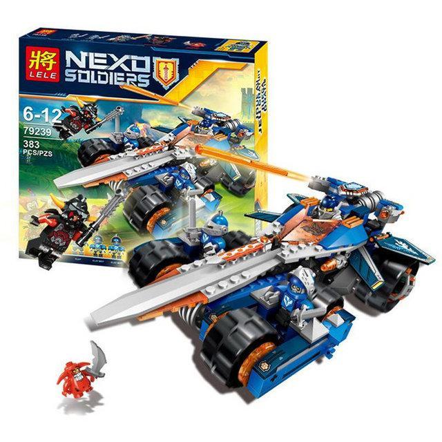 Конструктор Lele 79239 Nexo Knights Устрашающий разрушитель Клэя
