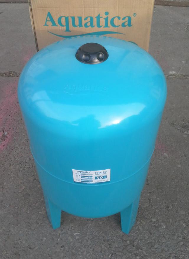 Бытовой гидроаккумулятор (ресивер для воды) Aquatica 779126 (100л)