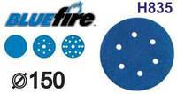 Абразивный круг Norton Blue Fire H835 Norgrip 150мм, 7 отв.