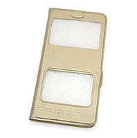 Чехол-книжка Momax для Samsung I9190/9192/9195 (S4 mini) Gold