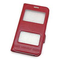 Чехол-книжка Momax для Samsung J3/ J310 Red